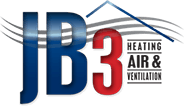 JB3 Heating & Air Conditioning Logo
